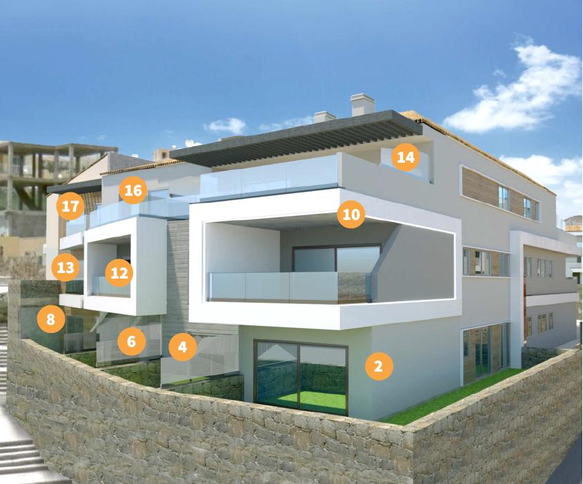 Se leilighetene og leilighetsnummer